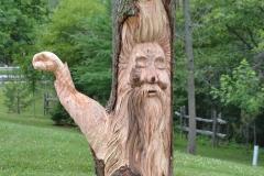 woodspirit holding lantern